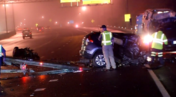 Wrong-Way Driver Killed in Crash on Capital Beltway