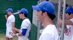 Surprise! Jonas Bros. Pop Up at NoVa Softball Game
