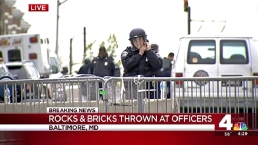 7 Baltimore Officers Hurt During Protests