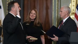 Mike Pompeo Swearing-In Ceremony