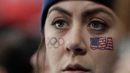 Olympics Fans Wear Their National Spirit on Their Faces