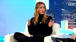 Maria Bello Talks to Harry About Self-Driving Cars