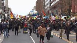 Climate Activists Take to Streets of DC