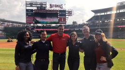 Photos: Storm Team4 Takes Over Nats Park for Weather Day