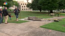 Man Destroys Ten Commandments Monument After Unveiling