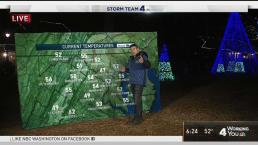 Storm Team 4's Doug Kammerer Races Kids at ZooLights