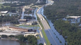 Aerial Footage Shows Devastating Flooding in N.C.