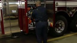 Firefighters Prepare for Wind Storm