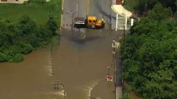 Floodwaters Present Travel Problems in Maryland