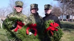 Honor Veterans by Gathering Wreaths in Arlington Saturday