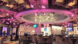 Tour MGM's Casino, Restaurants, Christmas Decor