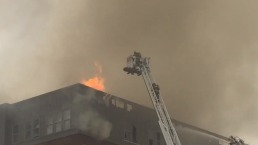 200 Firefighters Battle 5-Alarm Fire Near UMd.