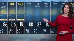 Midday Weather for Sept. 21, 2017