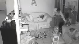 Burglar Sneaks Past Sleeping Kids