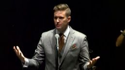 White Nationalist Speech Fizzles Out to Protests in Florida