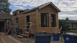 Woman's Tiny House She Built Is Stolen From Street