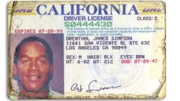 O.J. Simpson's Calif. Driver's Licenses to Be Auctioned
