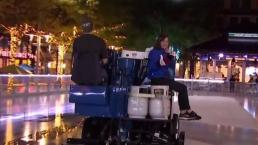 Riding Around a Zamboni With Amelia Draper