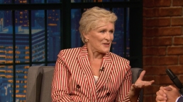 'Late Night': Glenn Close Talks About 'The Wife'