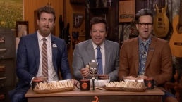 'Tonight': Will It Hummus? With Fallon, Rhett and Link