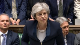 British Parliament Strikes Down May's Brexit Deal