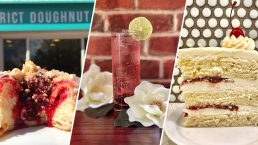 Cherry Blossom-Inspired Cocktails, Food & Goodies Around DC
