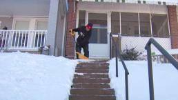 Volunteers Shovel Out DC Senior Citizens