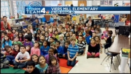 Viers Mill Elementary Kindergarten Students Are Smart About Weather