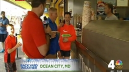 Backyard Weather: Kammerer Kicks Off Summer in Ocean City