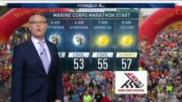 Marine Corps Marathon Forecast