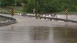 Water Street Submerged by Flooding in Upper Marlboro