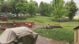 RAW: Hail in Fredericksburg
