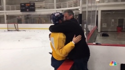 Emotional Dad of US Hockey Player, Still Tearing Up at Olympics