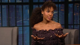 'Late Night': Kerry Washington's Broadway Play Is Super Intense