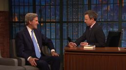 'Late Night': Kerry Played High School Hockey With Mueller