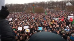 Protesters Rallied Against Government Across Russia