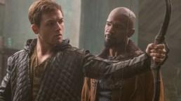 Egerton, Foxx Embrace Challenge of New 'Robin Hood'