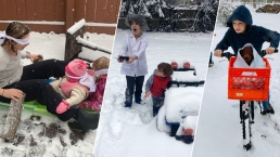 Snow Stick Challenge Photos: #SnowUs Your Favorite Movie