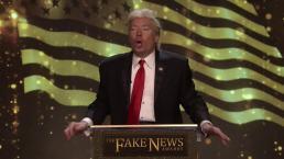 'Tonight': Trump's Fake News Awards