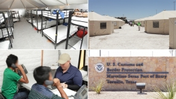 Inside the Tornillo 'Tent City' Housing Migrant Children