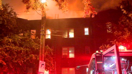 Body Found In NW DC Apartment After Massive Fire