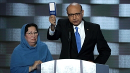 Father of Fallen Muslim Soldier Blasts Trump at DNC