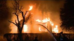 Historic Maryland House Destroyed in Fire