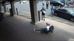 Suspect Wrestles With Fairfax County Officer During Arrest