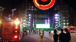 4 Injured After LED Display Fell at Ultra Site