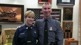 Officer Opens Up About Coping After Wife's Suicide