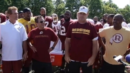 Redskins Step Up to Ice Bucket Challenge