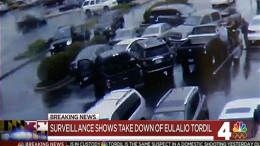Surveillance Video Shows Arrest of MD Shooting Suspect