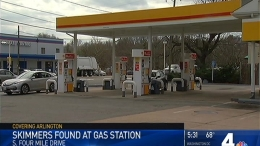 Credit Card Skimmers Found at Gas Station in Arlington