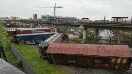 CSX Train Derailment in D.C.